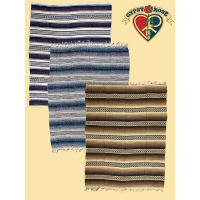 STRIPED MEXICAN FALSA BLANKET