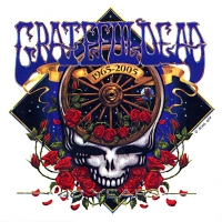 Grateful Dead 40th Anniversary Window Sticker