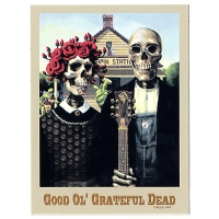GOOD OL' GRATEFUL GOTHIC STICKER