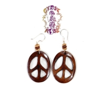 BONE PEACE EARRINGS