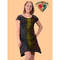 Shine On Psychedelic Ladies Short Sleeve Dress