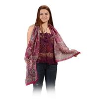 PURE SILK GYPSY SCARF