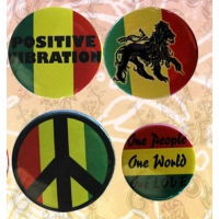 RASTA SSORTED BUTTONS